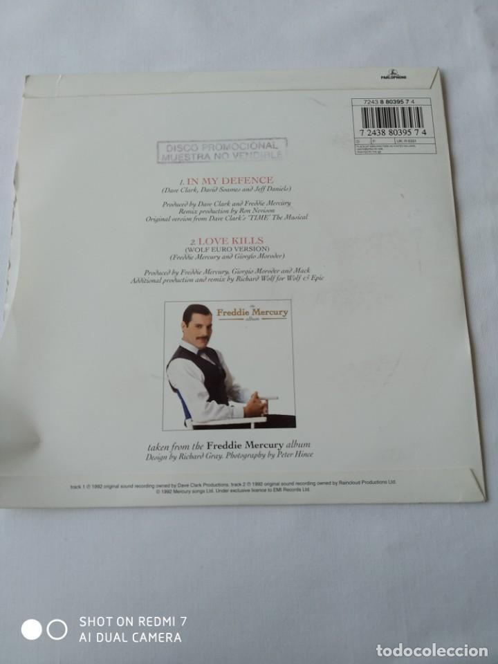 Discos de vinilo: Freddie Mercury,In my defence,disco promocional - Foto 2 - 289320843