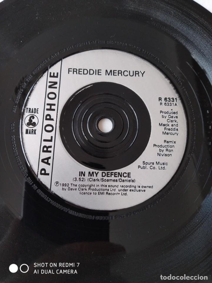 Discos de vinilo: Freddie Mercury,In my defence,disco promocional - Foto 3 - 289320843