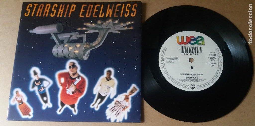 EDELWEISS / STARSHIP EDELWEISS / SINGLE 7 PULGADAS (Música - Discos - Singles Vinilo - Pop - Rock Internacional de los 90 a la actualidad)