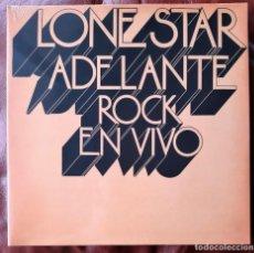 Discos de vinilo: LONE STAR - ADELANTE ROCK EN VIVO LP (REEDICIÓN 2018). Lote 289321743