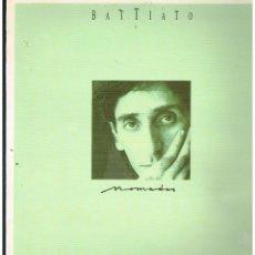 Discos de vinilo: FRANCO BATTIATO - NOMADAS - LP 1987. Lote 289324448