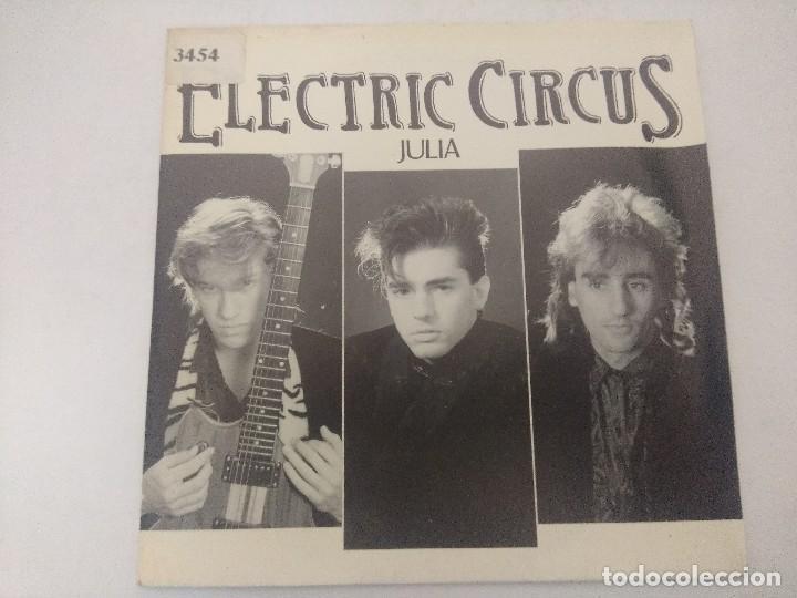 ELECTRIC CIRCUS/JULIA/SINGLE PROMOCIONAL. (Música - Discos - Singles Vinilo - Grupos Españoles de los 70 y 80)
