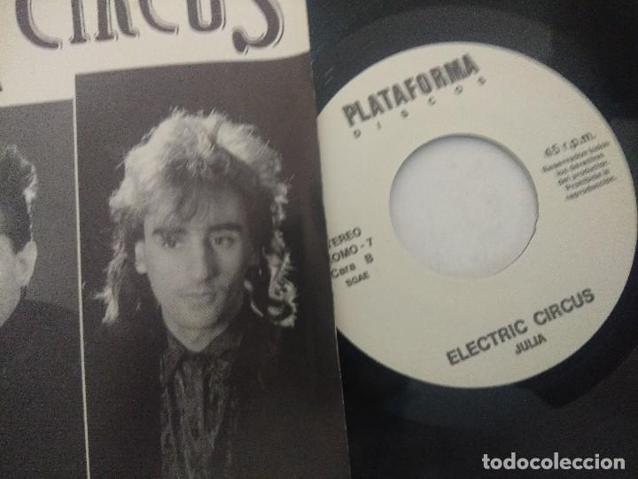 Discos de vinilo: ELECTRIC CIRCUS/JULIA/SINGLE PROMOCIONAL. - Foto 2 - 289327778