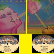 Discos de vinilo: LIPPS. INC. - MOUTH TO MOUTH 79, FUNKYTOWN 7:51 / 1ª ORG EDT USA + ENCARTE CASABLANCA, IMPECABLE. Lote 289327878