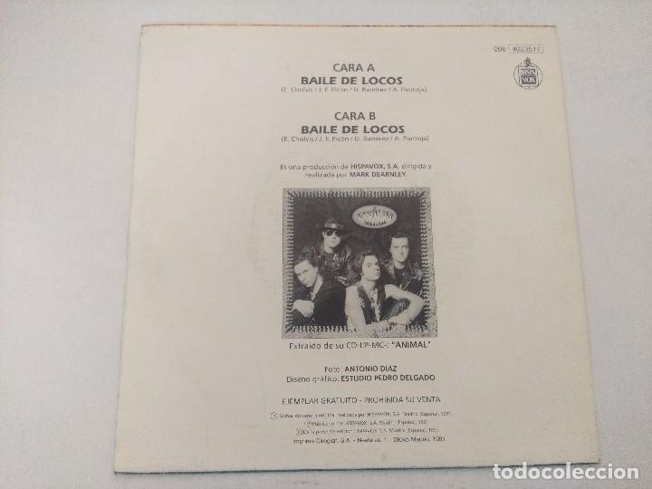 Discos de vinilo: EL ALMA/BAILE DE LOCOS/SINGLE. - Foto 3 - 289328543