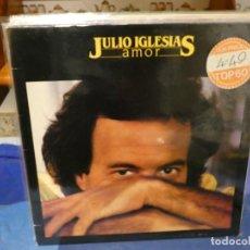 Discos de vinilo: EXPRO LP JULIO IGLESIAS AMOR UK 80S BUEN ESTADO GENERAL. Lote 289329388