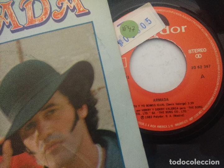 Discos de vinilo: ARMADA/TU Y YO SOMOS IGUAL/SINGLE PROMOCIONAL. - Foto 2 - 289329423