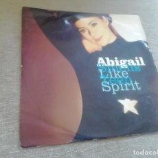 Discos de vinilo: ABIGAIL-SMELLS LIKE TEEN SPIRIT. MAXI. Lote 289333123