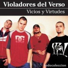 Discos de vinilo: LP-VIOLADORES DEL VERSO/ VICIOS Y VIRTUDES -2LP- (NUEVO PRECINTADO). Lote 289333223