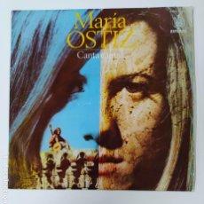 Discos de vinilo: MARÍA OSTIZ - CANTA CANTA. LP. TDKDA46. Lote 289333663