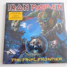Discos de vinilo: IRON MAIDEN. 2 LP PICTURE DISC. THE FINAL FRONTIER. PRECINTADO. EDICIÓN ORIGINAL DEL 2010. Lote 289335328