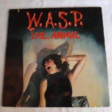 Discos de vinilo: W.A.S.P. -LIVE...ANIMAL- (1987) EP. Lote 289336173