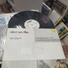 Discos de vinilo: ALPHAVILLE MAXI BIG IN JAPAN U.K. 1984. Lote 289343778