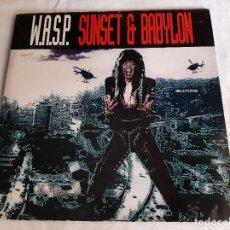 Discos de vinilo: W.A.S.P. -SUNSET & BABYLON- (1993) MAXI-SINGLE. Lote 289344178