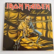 Discos de vinilo: IRON MAIDEN. LP. PIECE OF MIND. EDICIÓN ORIGINAL HOLANDESA DEL 1983. Lote 289347328