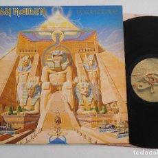 Discos de vinilo: IRON MAIDEN. LP. POWERSLAVE. EDICIÓN ORIGINAL ESPAÑOLA DEL 1984. Lote 289347848
