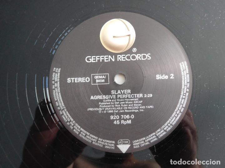 Discos de vinilo: Slayer. 12 Single. Posmortem. Edición original alemana del 1986 - Foto 5 - 289349448