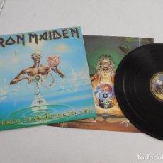 Discos de vinilo: IRON MAIDEN. LP. SEVENTH SON OF A SEVENTH SON. EDICIÓN ORIGINAL ESPAÑOLA DEL 1988. Lote 289351658