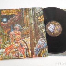 Discos de vinilo: IRON MAIDEN. LP. SOMEWHERE IN TIME. EDICIÓN ORIGINAL ESPAÑOLA DEL 1986. Lote 289352288