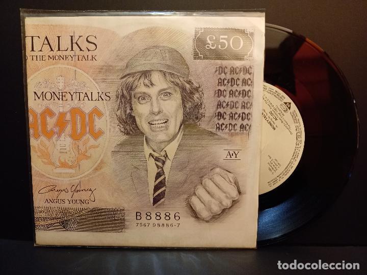 AC/DC MONEYTALKS SINGLE GERMANY 1990 PDELUXE (Música - Discos - Singles Vinilo - Pop - Rock Internacional de los 90 a la actualidad)