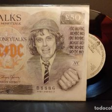 Discos de vinilo: AC/DC MONEYTALKS SINGLE GERMANY 1990 PDELUXE. Lote 289352738