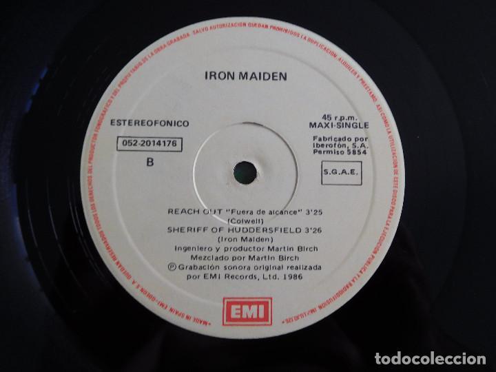 Discos de vinilo: Iron Maiden. 12 Single. Wasted years. Edición original española del 1986 - Foto 9 - 289353763