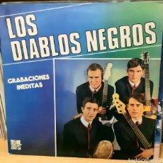 Discos de vinilo: MUSICA GOYO - LP - LOS DIABLOS NEGROS - GRABACIONES INÉDITAS - AA99. Lote 289354298
