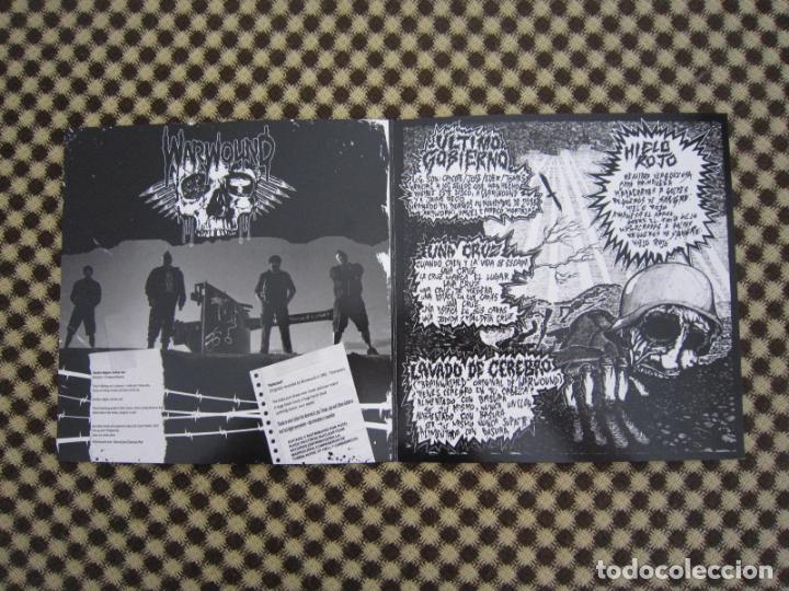 Discos de vinilo: EP SPLIT - H.C.PUNK - WARWOUND + ÚLTIMO GOBIERNO - Foto 3 - 289354533