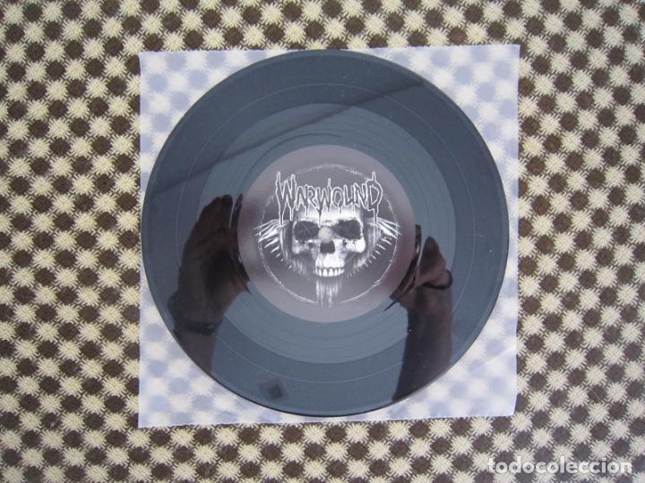 Discos de vinilo: EP SPLIT - H.C.PUNK - WARWOUND + ÚLTIMO GOBIERNO - Foto 4 - 289354533