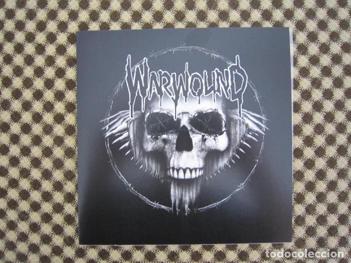 EP SPLIT - H.C.PUNK - WARWOUND + ÚLTIMO GOBIERNO (Música - Discos de Vinilo - EPs - Punk - Hard Core)