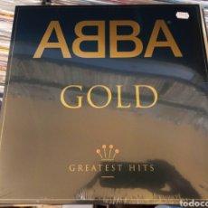 Discos de vinilo: 2 LP ABBA GOLD - TODOS SUS ÉXITOS - NUEVO. Lote 289357563