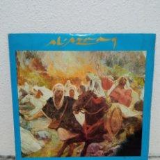 Discos de vinilo: DISCO DE VINILO AL'AZRAQ MÚSICA MOROS Y CRISTIANOS DE ALCOY CORPORACIÓN MUSICAL PRIMITIVA ALCOY 1981. Lote 289358838