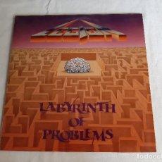 Discos de vinilo: LEGION -LABYRINTH OF PROBLEMS- (1992) LP DISCO VINILO. Lote 289359283