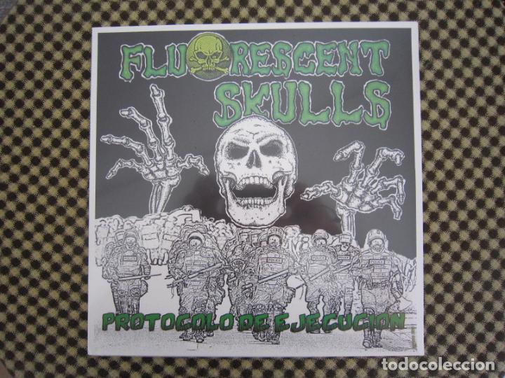 MX - H.C.PUNK - FLUORESCENT SKULLS (PROTOCOLO DE EJECUCIÓN) - PRECINTADO (Música - Discos de Vinilo - Maxi Singles - Punk - Hard Core)