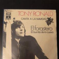 Discos de vinilo: TONY RONALD. EL FORASTERO. PROMOCIONAL.. Lote 289360323