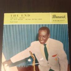 Discos de vinilo: EARL GRANT. THE END. OL'MAN RIVER + 1.. Lote 289362833