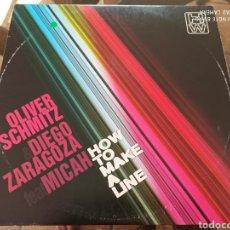 "Discos de vinilo: OLIVER SCHMITZ & DIEGO ZARAGOZA FEAT MICAH (2) - HOW TO MAKE A LINE (12""). Lote 289342313"