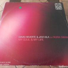 "Discos de vinilo: DAVID REVERTE & JAVI VILA FEAT. NURIA SWAN - MY SOUL & MY LIFE (12""). Lote 289349323"