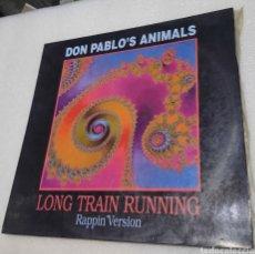 Discos de vinilo: DON PABLO'S ANIMALS - LONG TIMR RUNNING. Lote 289367178