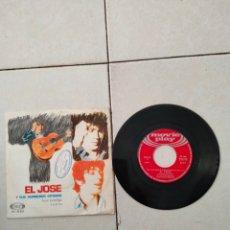 Discos de vinilo: EL JOSE Y SUS RUMBEROS GITANOS - LLORA CONMIGO - SINGLE - SPAIN - PR. Lote 289400668