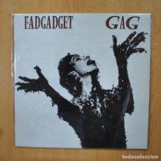 Discos de vinilo: FAD GADGET - GAG - LP. Lote 289406523