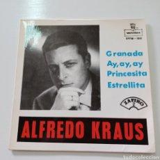 Discos de vinilo: ALFREDO KRAUS - GRANADA ... MONTILLA EPFM - 100 ZAFIRO. Lote 289406808