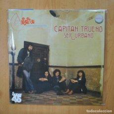 Discos de vinilo: ASFALTO - CAPITAN TRUENO / SER URBANO - MAXI. Lote 289407123
