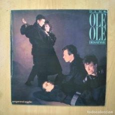 Discos de vinilo: OLEOLE - DAME DESATAME - PROMO MAXI. Lote 289407208