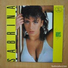 Discos de vinilo: SABRINA - BOYS - MAXI. Lote 289407718
