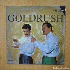 Discos de vinilo: YELLO - GOLDRUSH - MAXI. Lote 289407733