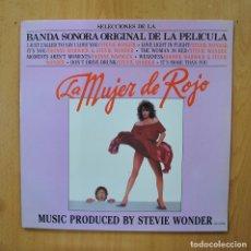 Discos de vinilo: STEVIE WONDER - LA MUJER DE ROJO - LP. Lote 289407908
