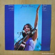 Discos de vinilo: JOAN BAEZ - GRACIAS A LA VIDA - LP. Lote 289407923