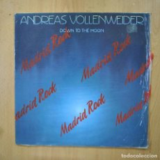 Discos de vinilo: ANDREAS VOLLENWEIDER - DOWN TO THE MOON - LP. Lote 289407933