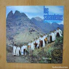 Discos de vinilo: LOS SABANDEÑOS - ANTOOGIA DEL FOLKLORE CANARIO VOL 1 - LP. Lote 289407978